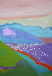 Landscape II, 2012, Acrylic on canvas, 125X85 cm