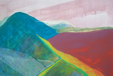 Landscape IV, 2012, Acrylic on canvas, 125X85 cm