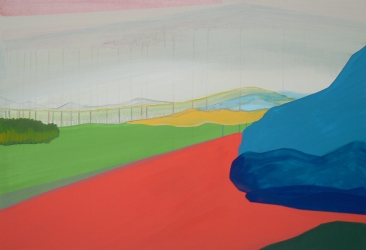 Landscape V, 2012, Acrylic on canvas, 125X85 cm